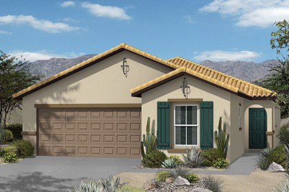 New Homes in Henderson, NV - Plan 1849 Elevation A