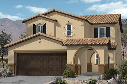 New Homes in Henderson, NV - Plan 2215 Elevation A