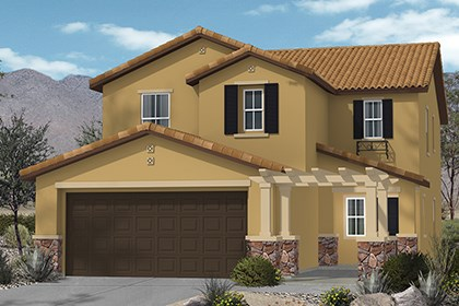 New Homes in Henderson, NV - Plan 2215 Elevation B