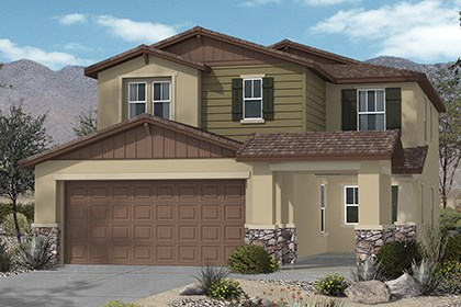 New Homes in Henderson, NV - Plan 2215 Elevation C