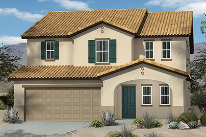 New Homes in Henderson, NV - Plan 2568 Elevation A