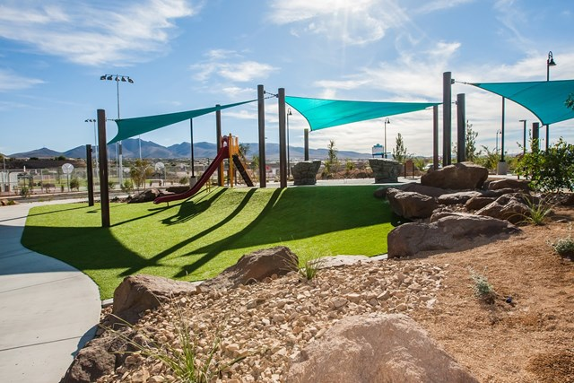 Amenity park at a KB Home community in Henderson, NV