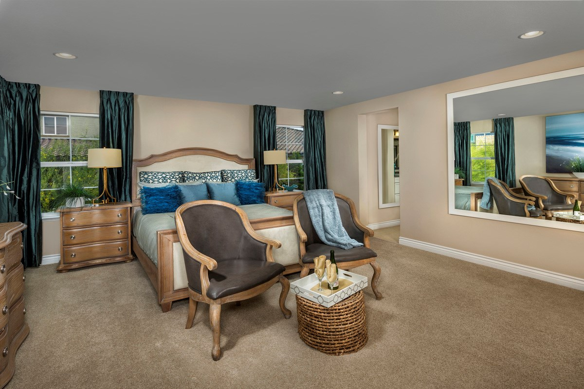 New Homes in Henderson, NV - Reserves at Inspirada Plan 3059 Master Bedroom