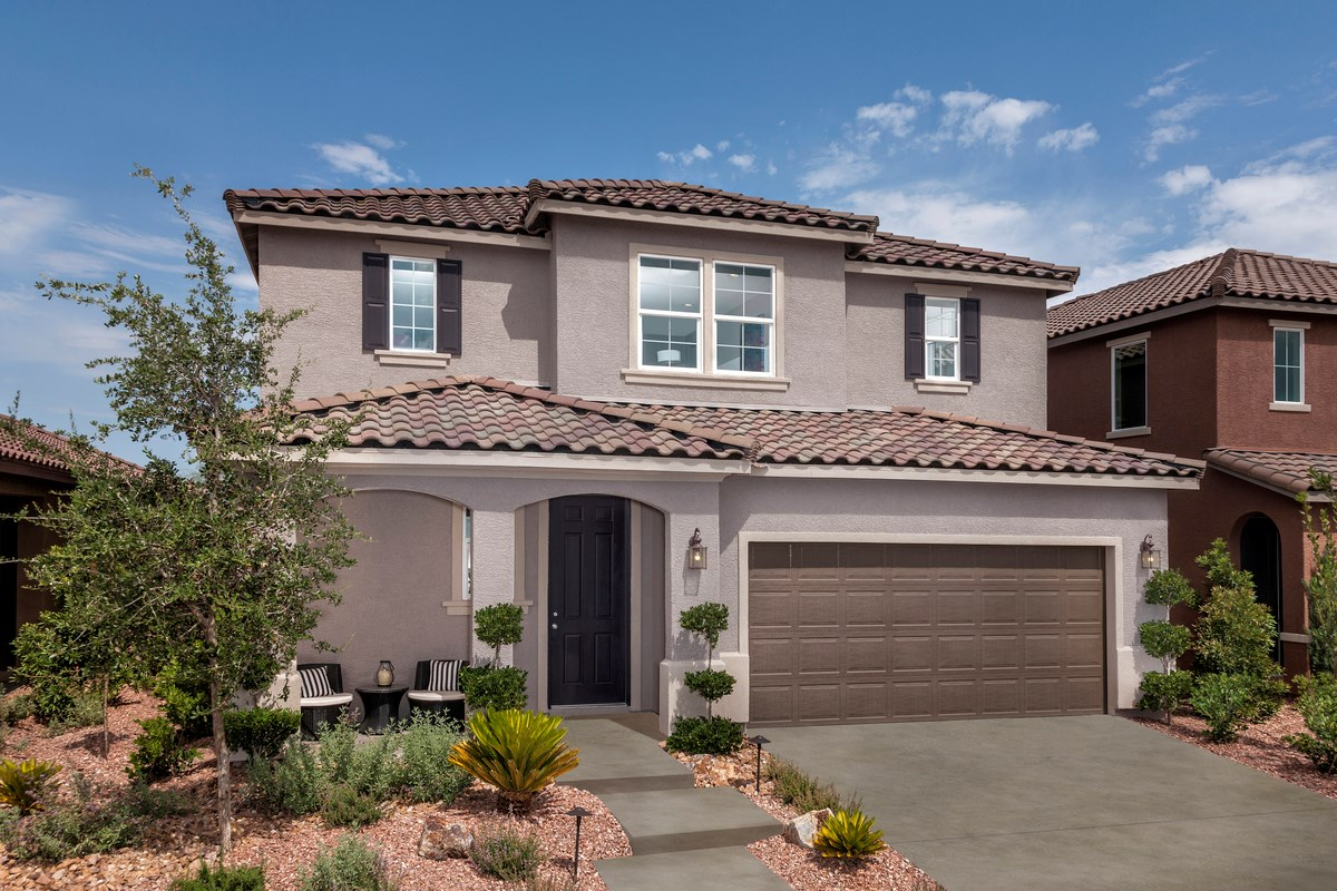 New Homes in Las Vegas, NV - Reserves at San Severo Plan 2568 as modeled as Plan 2619