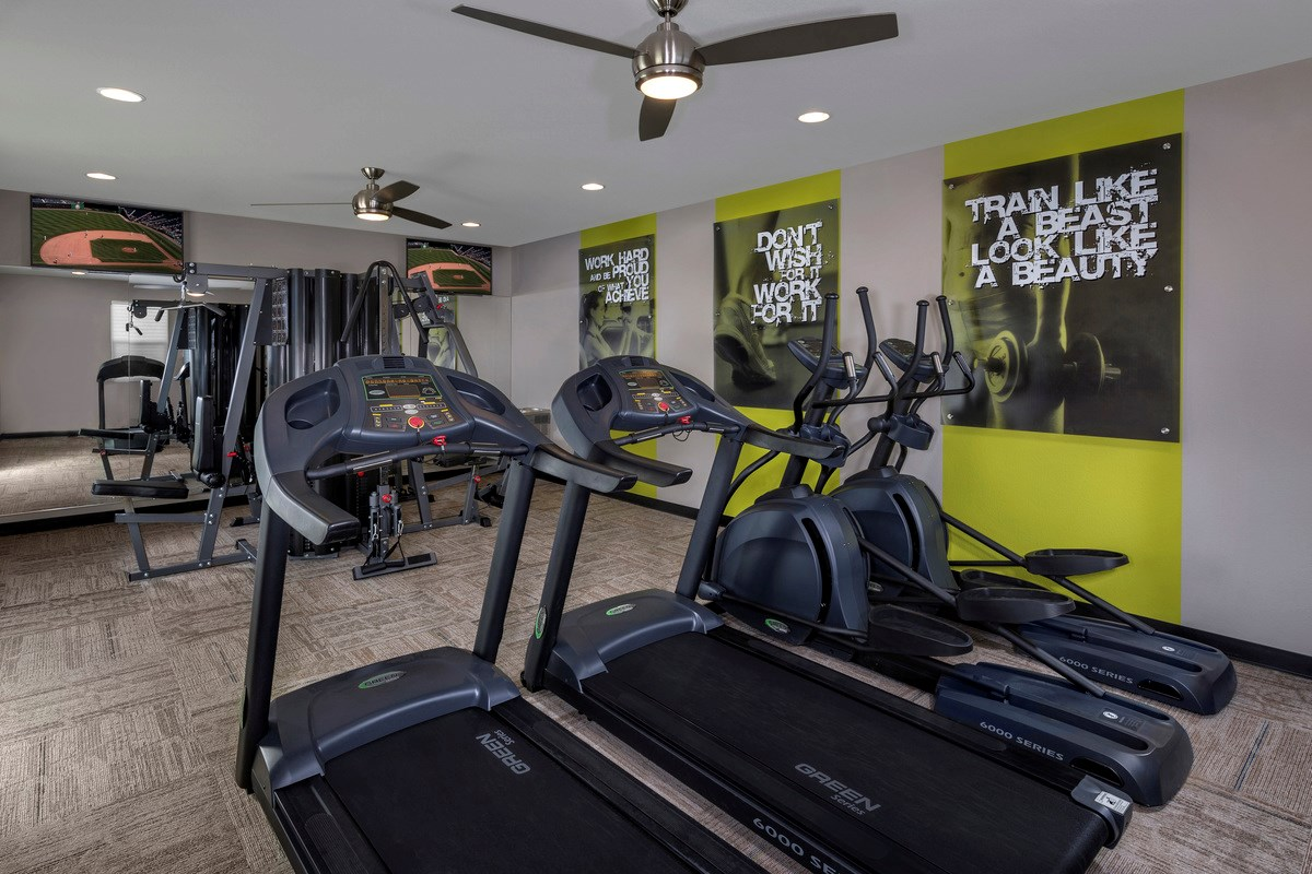 New Homes in Las Vegas, NV - Reserves at San Severo San Severo Gym