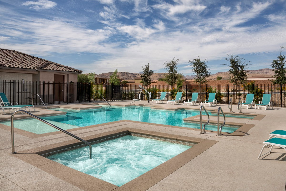 New Homes in Las Vegas, NV - Reserves at San Severo San Severo Pool