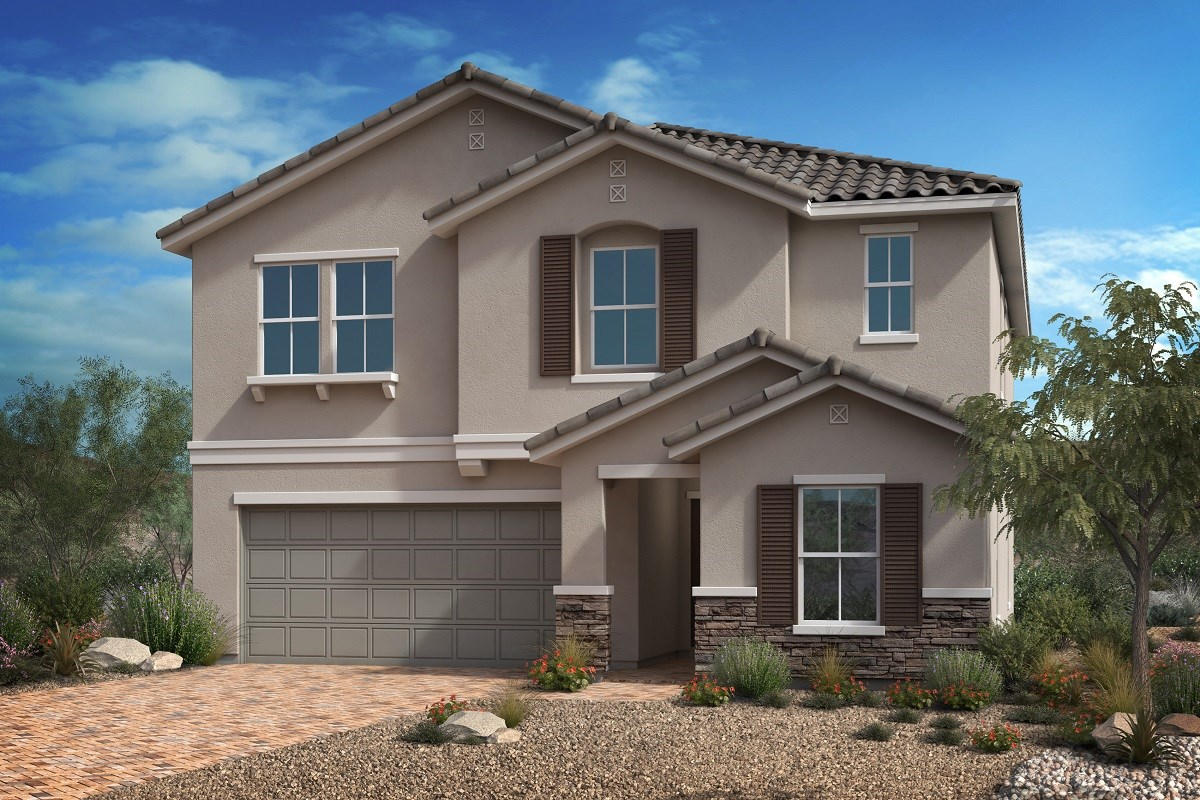 New Homes in Las Vegas, NV - Reserves at Serene Canyon Plan 2679