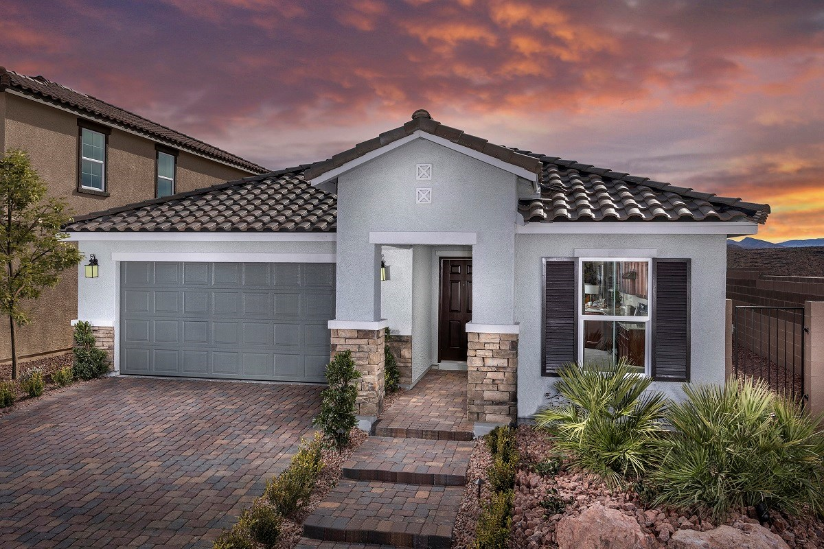 New Homes in Las Vegas, NV - Reserves at Serene Canyon Plan 1589
