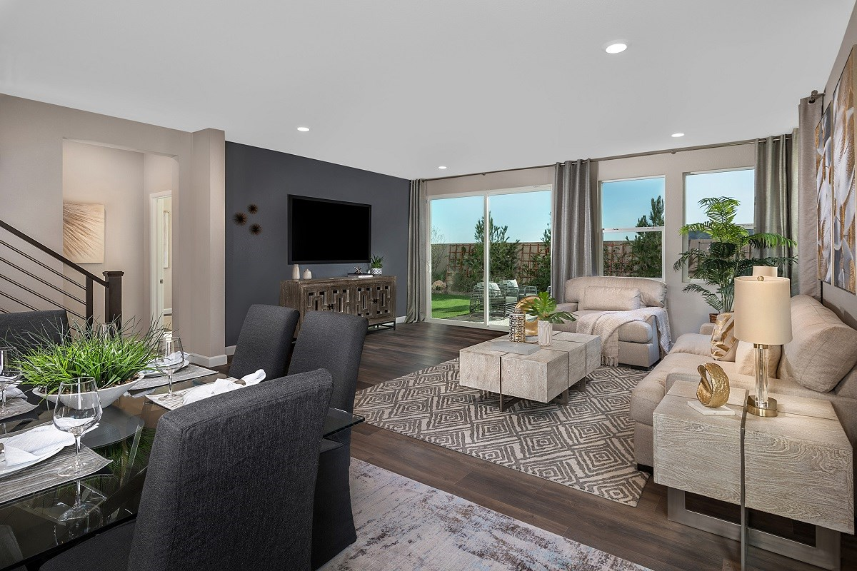 New Homes in Las Vegas, NV - Reserves at Serene Canyon Plan 2993 Great Room