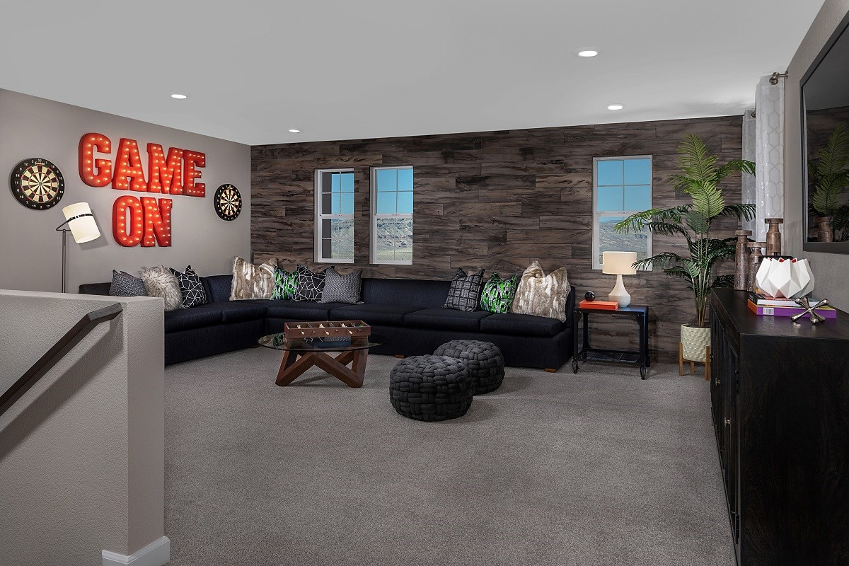 New Homes in Las Vegas, NV - Reserves at Serene Canyon Plan 2993 Loft
