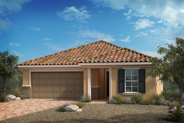 New Homes in North Las Vegas, NV - Elevation E