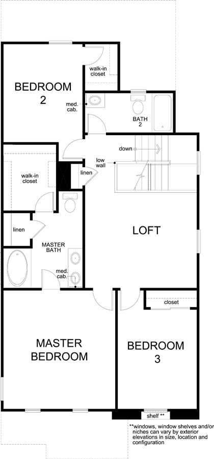 Plan 1812 Modeled New Home Floor Plan In Gardens At