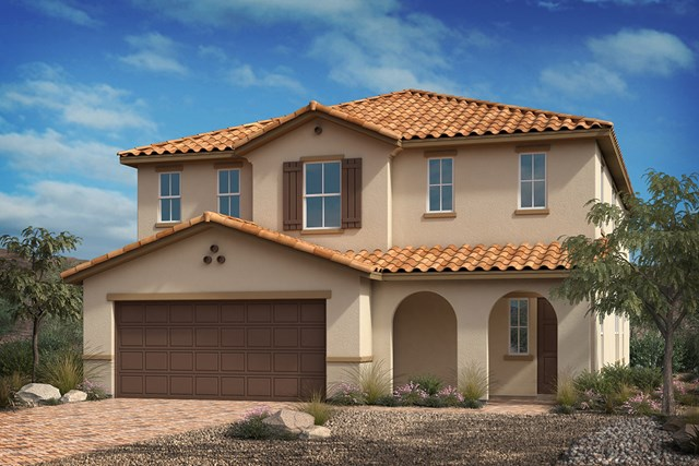 New Homes in North Las Vegas, NV - Elevation A