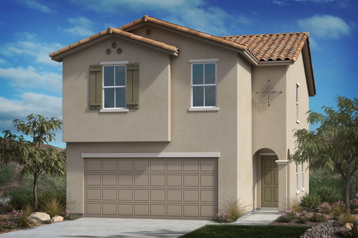 New Homes in Las Vegas, NV - Serene Canyon Plan 1855