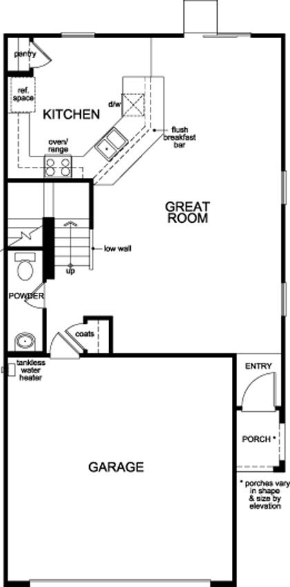 Plan 1855 New Home Floor Plan In Serene Canyon By Kb Home