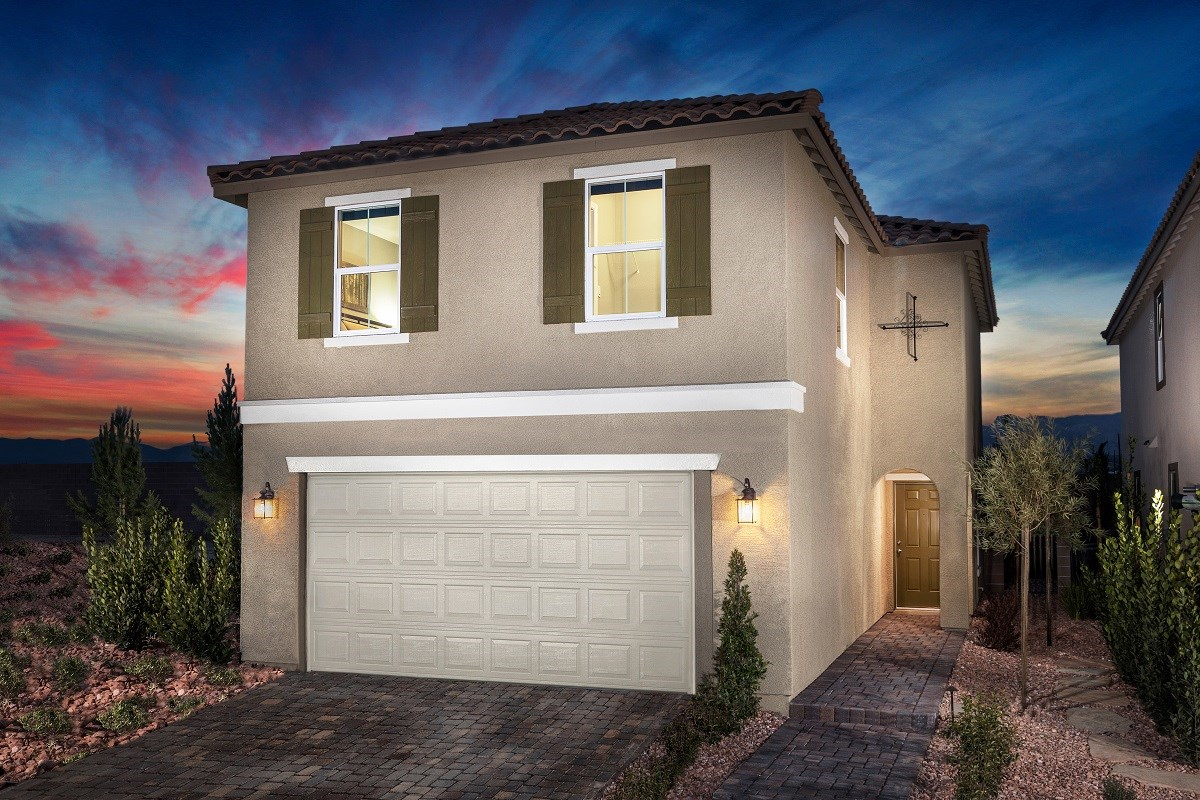 New Homes in Las Vegas, NV - Serene Canyon Plan 1657 Modeled