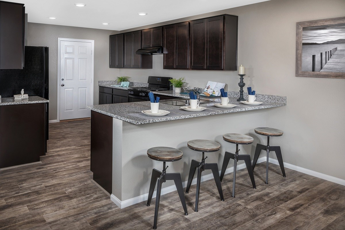 New Homes in Las Vegas, NV - Serene Canyon Plan 1657 Kitchen
