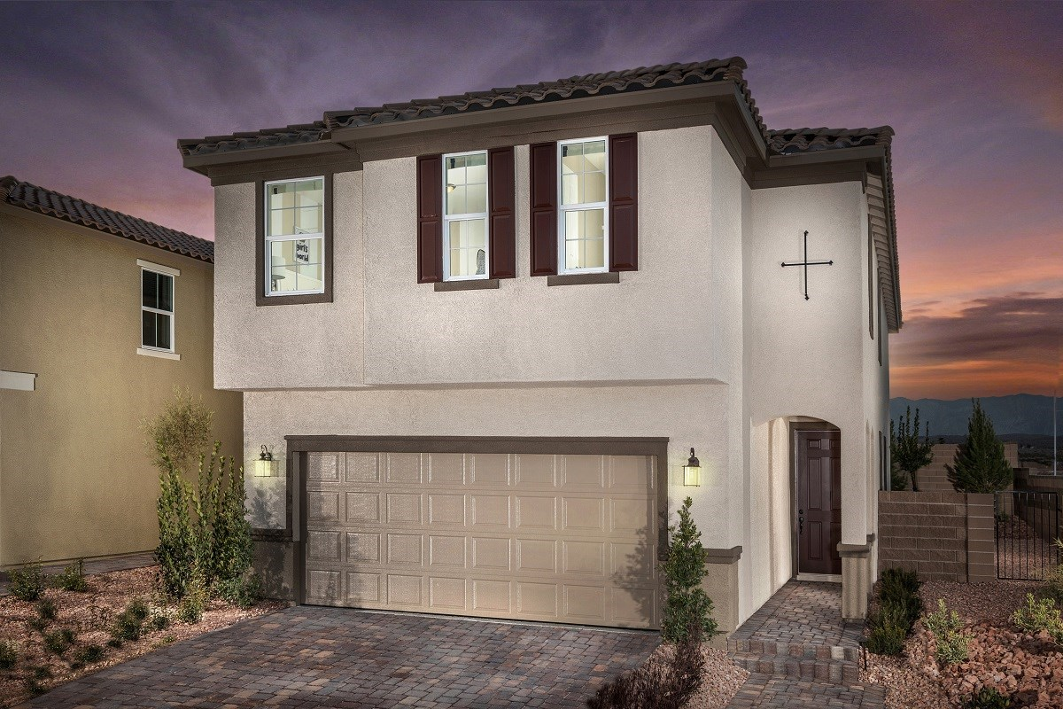 New Homes in Las Vegas, NV - Serene Canyon Plan 2469 Modeled