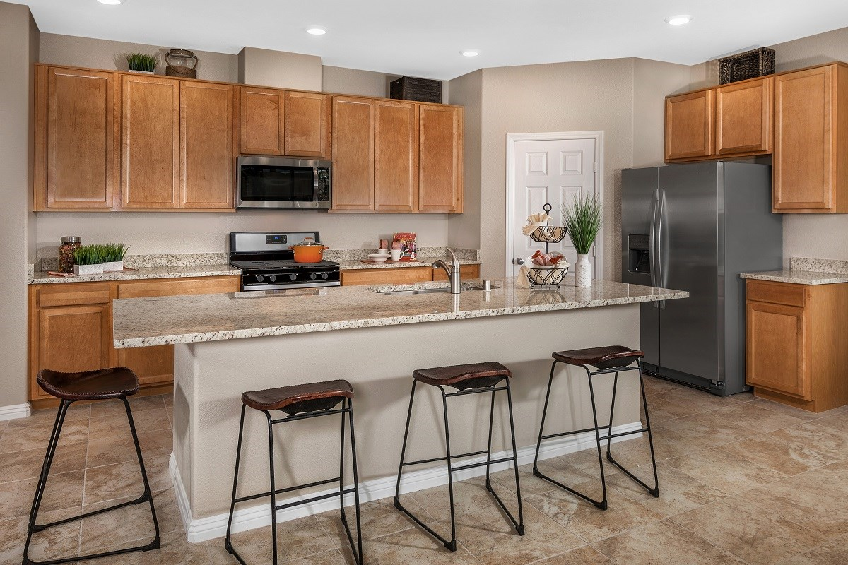 New Homes in Las Vegas, NV - Serene Canyon Plan 2469 Kitchen