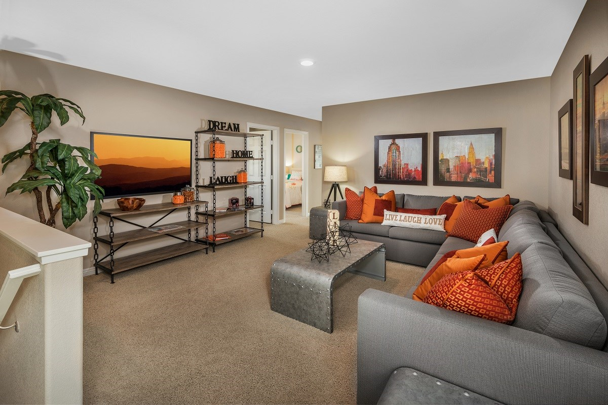 New Homes in Las Vegas, NV - Serene Canyon Plan 2469 Loft