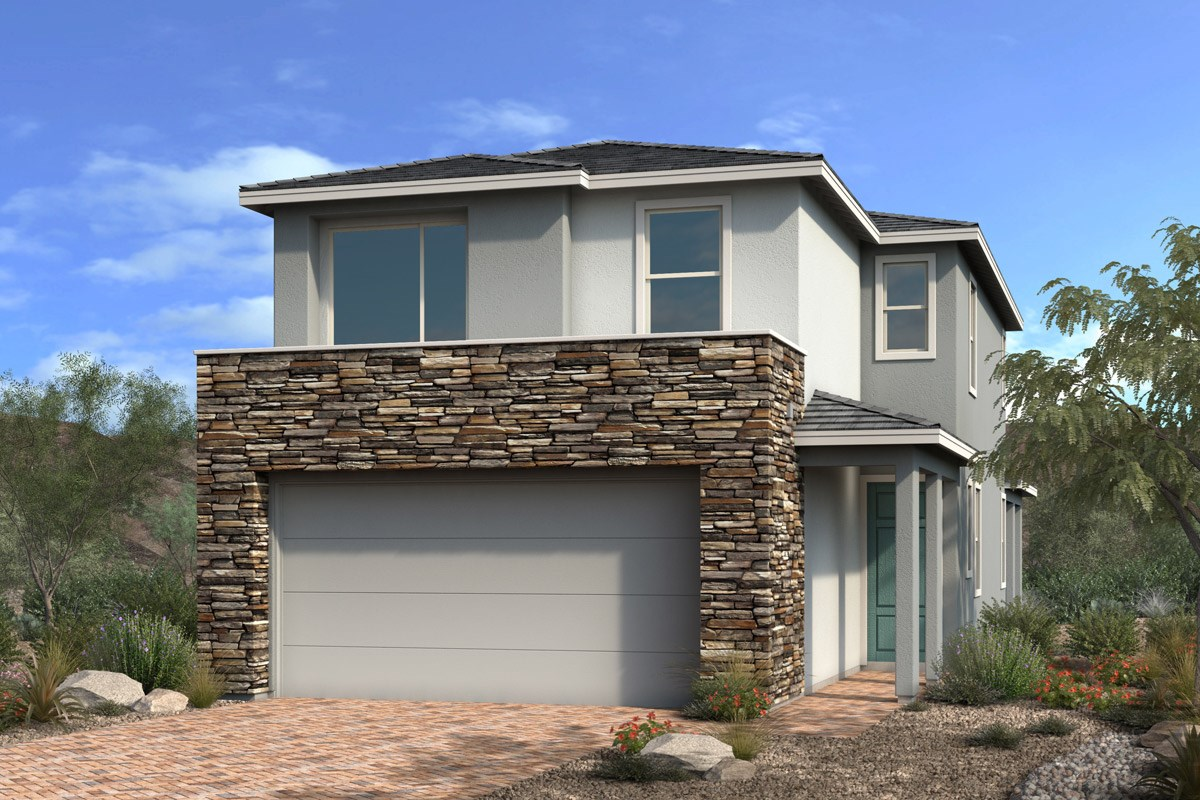 New Homes in Las Vegas, NV - Stonegate at Summerlin - Collection I Plan 2089