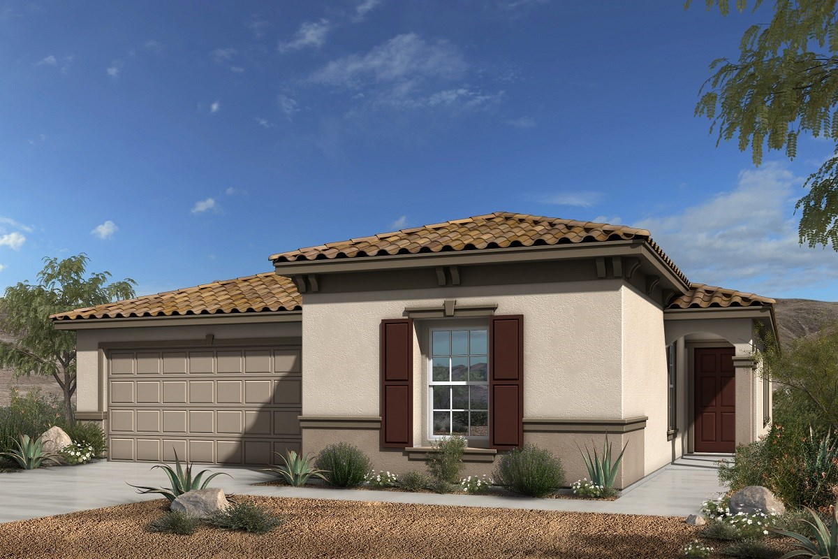 New homes for sale at talesera hills in henderson nv kb for Henderson house