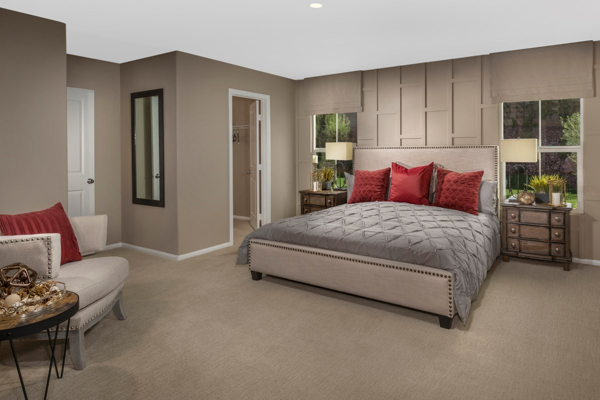 New Homes in Henderson, NV - Talesera Hills Plan 2035 Master Bedroom