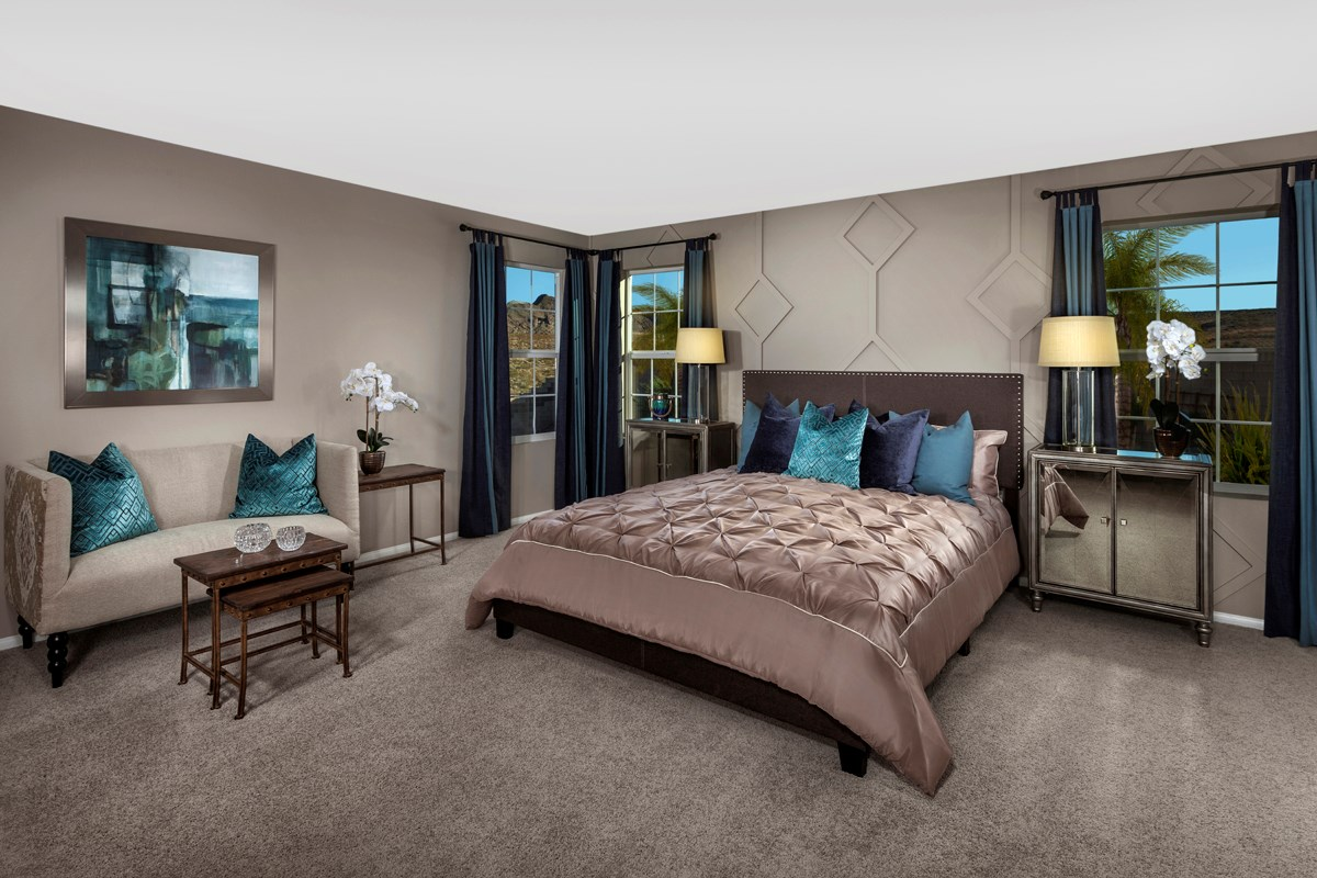 New Homes in Henderson, NV - Talesera Hills Plan 3195 Master Bedroom