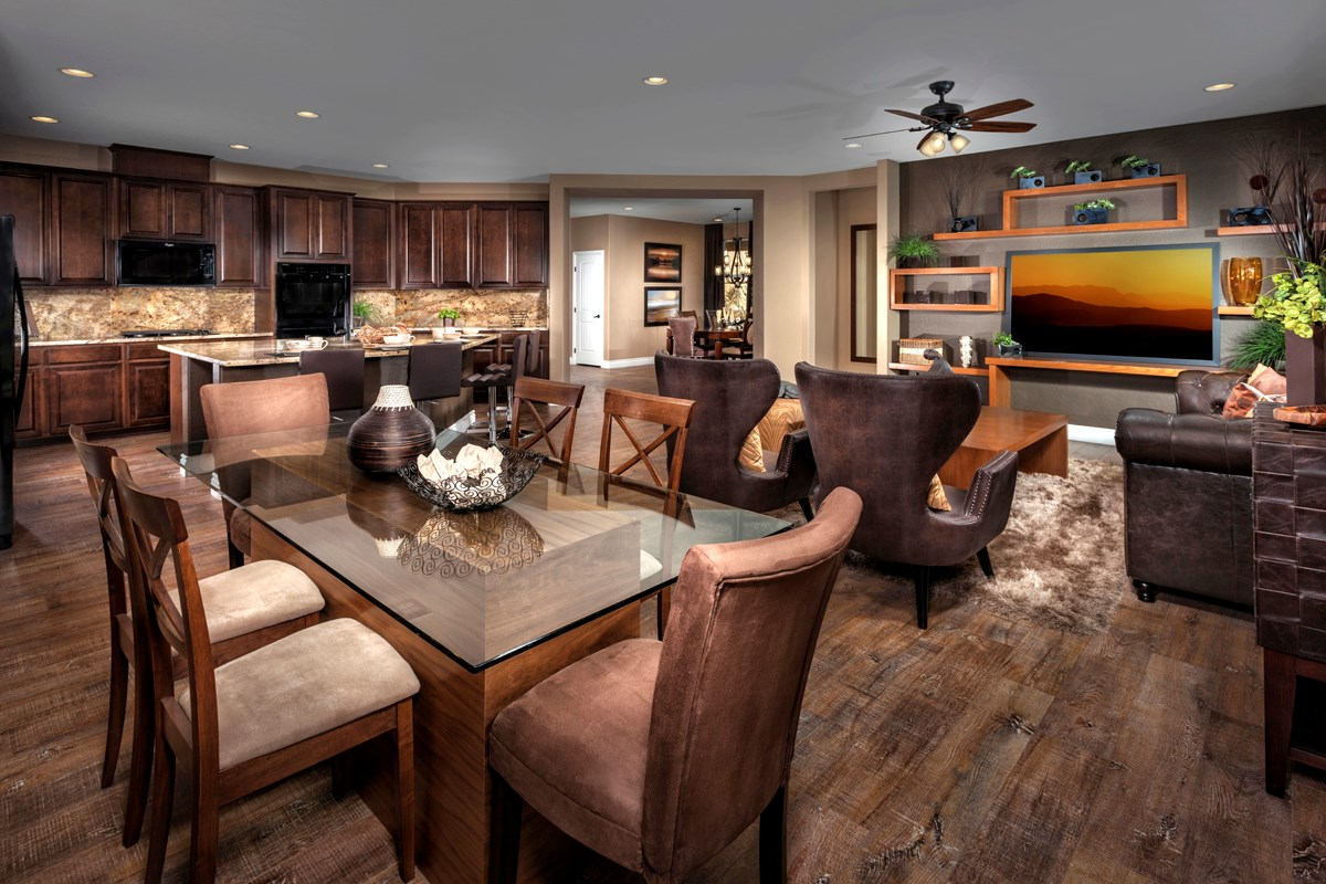 New Homes in Henderson, NV - Terraces at Inspirada Plan 3596 Great Room