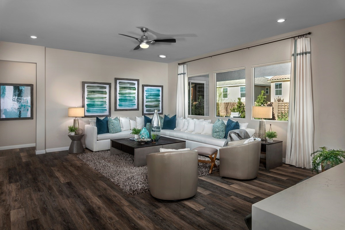 New Homes in Henderson, NV - Terraces at Inspirada Plan 2379 Great Room