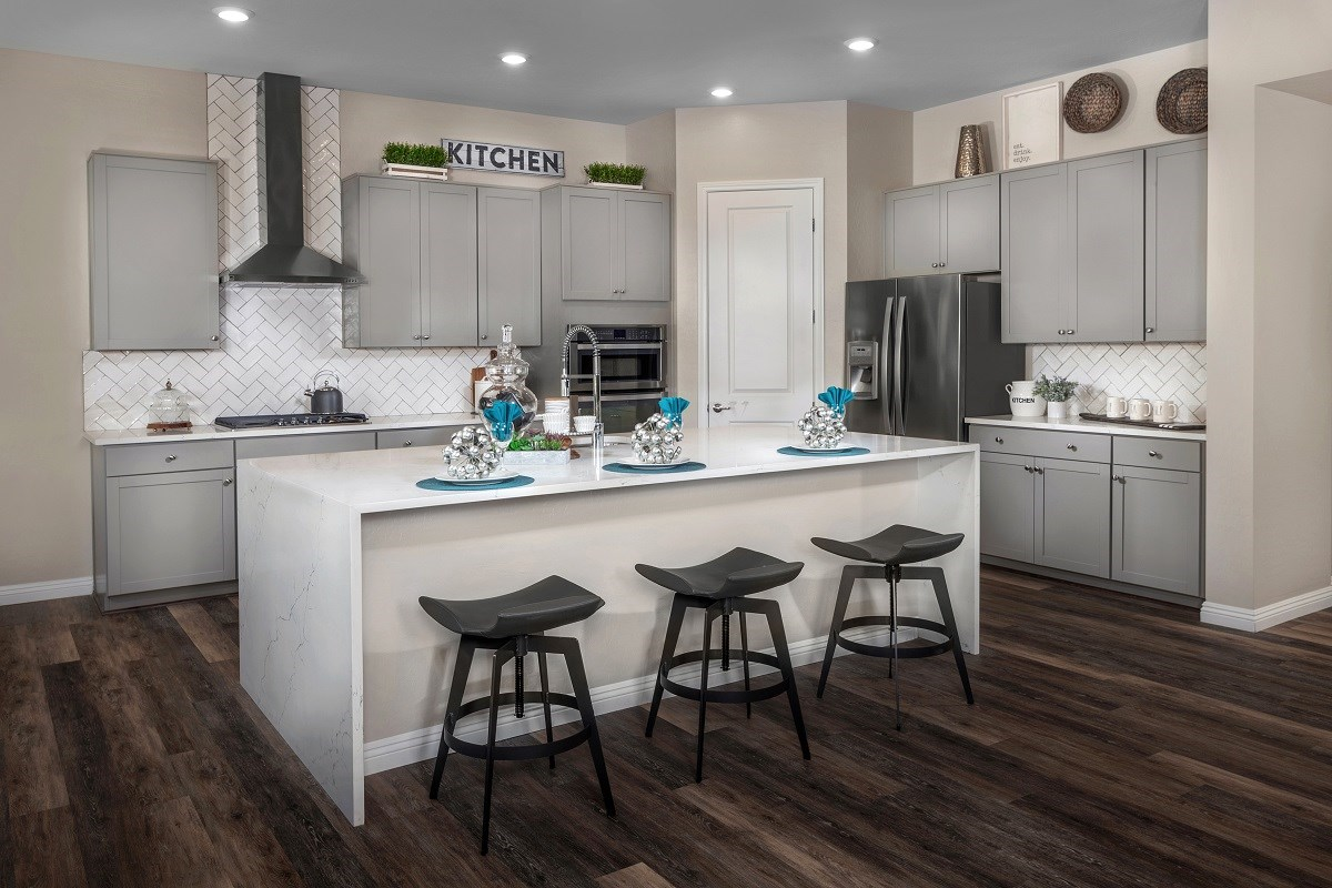 New Homes in Henderson, NV - Terraces at Inspirada Plan 2379 Kitchen