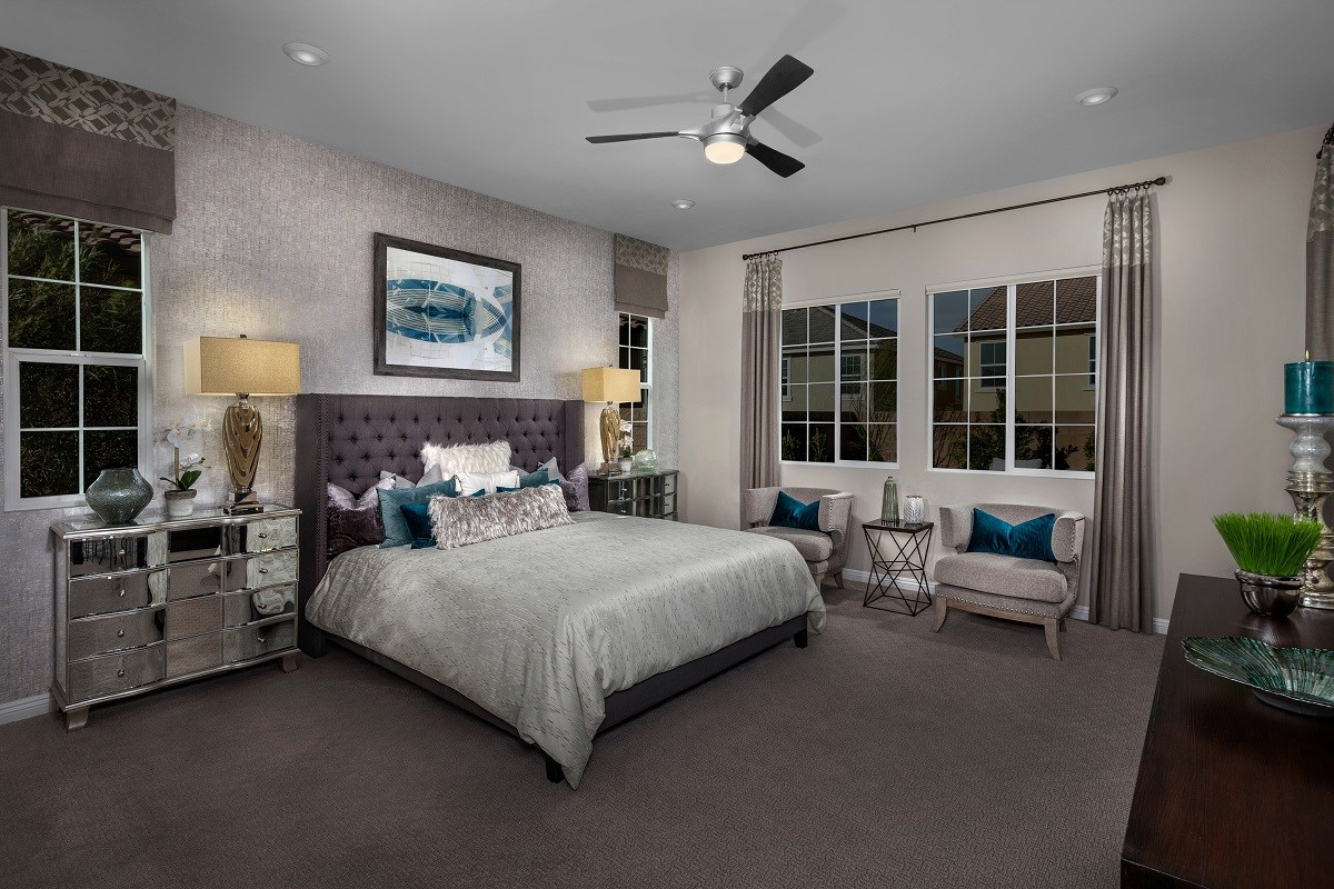 New Homes in Henderson, NV - Terraces at Inspirada Plan 2379 Master Bedroom