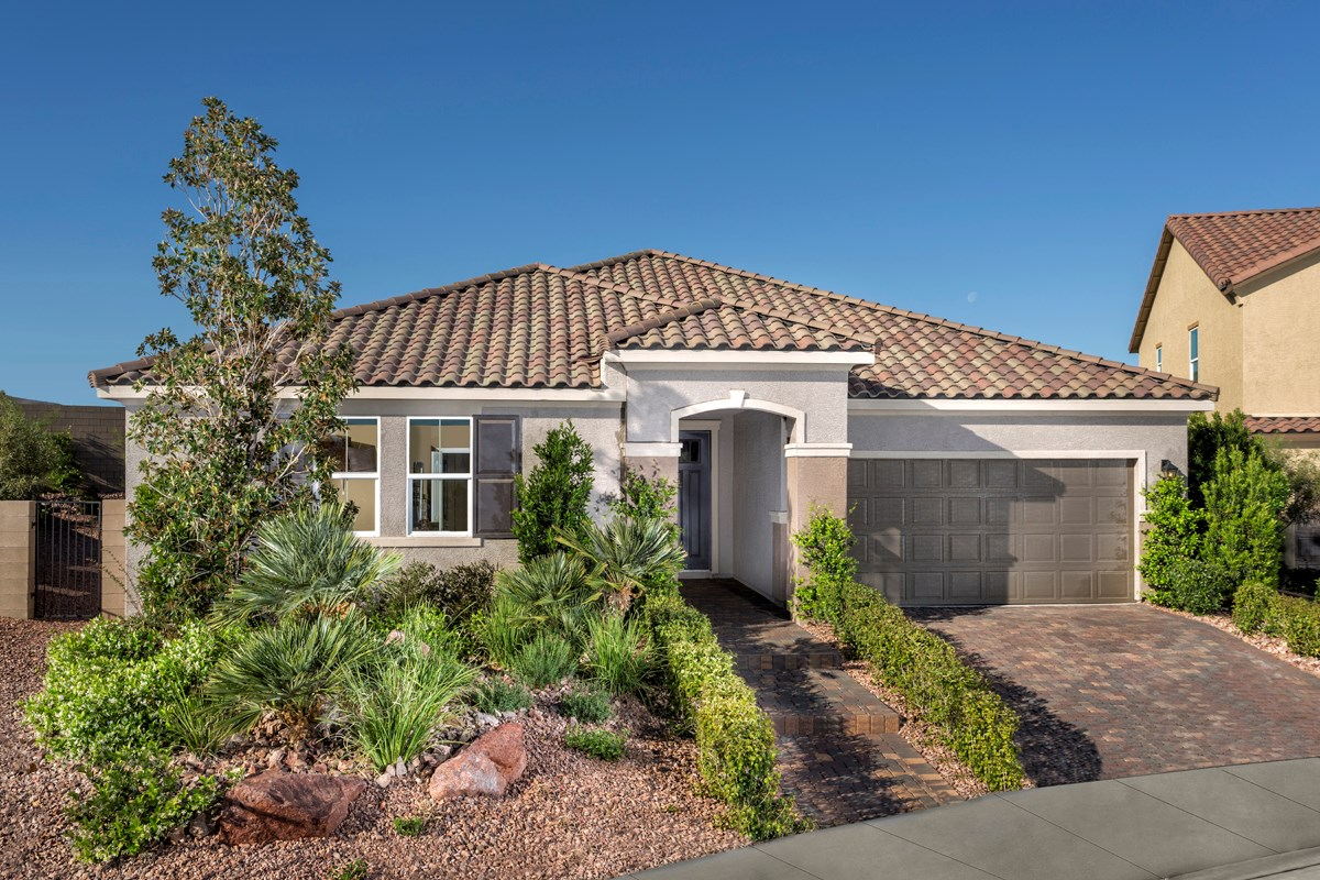 New Homes in Henderson, NV - Terraces at Inspirada Plan 2476 as modeled at Pearl Creek