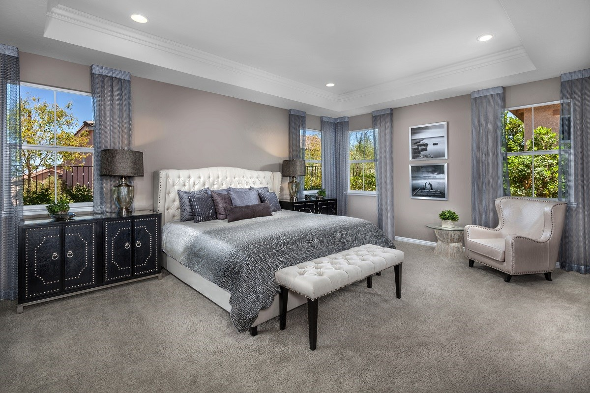New Homes in Henderson, NV - Terraces at Inspirada Plan 2826 Master Bedroom