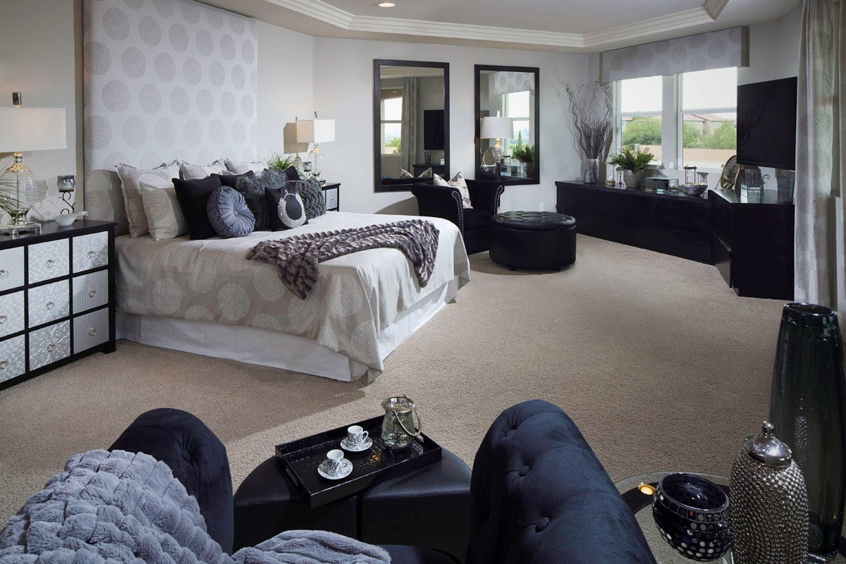 New Homes in Henderson, NV - Terraces at Inspirada 4343 Master Bedroom
