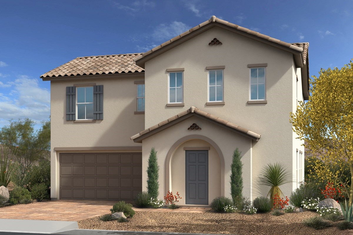 New Homes in Las Vegas, NV - Watercrest Plan 1894