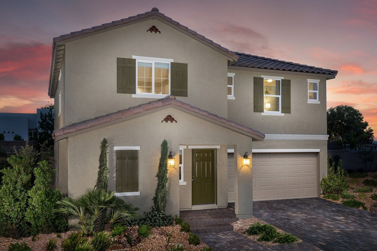 New Homes in Las Vegas, NV - Watercrest Plan 2057 Modeled