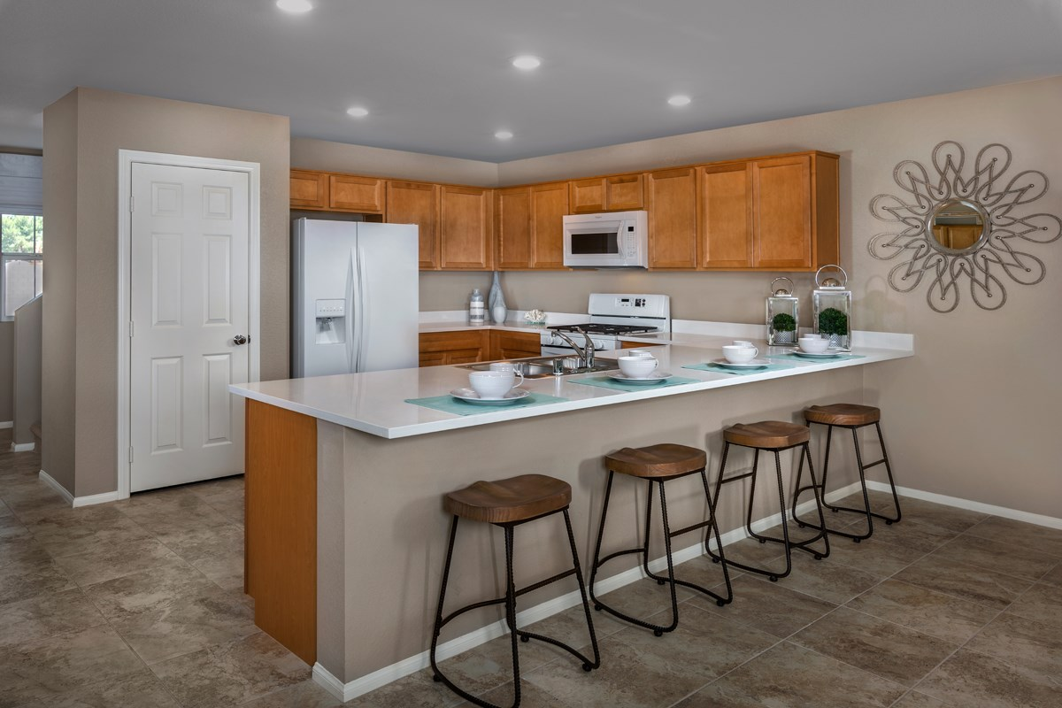 New Homes in Las Vegas, NV - Watercrest Plan 2057 Kitchen