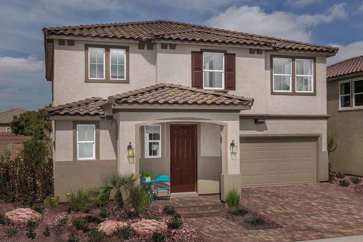 New Homes in Las Vegas, NV - Watercrest Plan 2198 Modeled