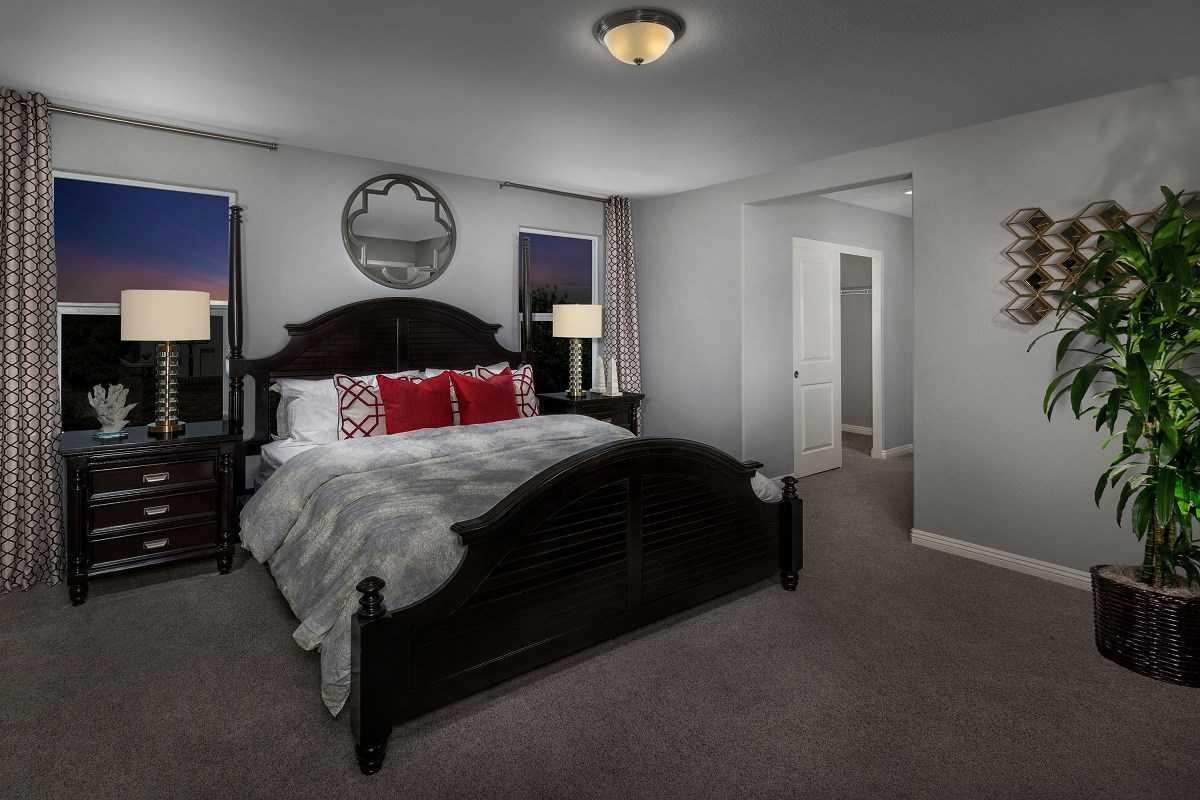 New Homes in Las Vegas, NV - Watercrest Plan 2198 Master Bedroom