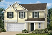 New Homes in Clayton, NC - The Catherine II Modeled