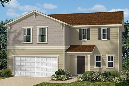 New Homes in Clayton, NC - Elevation B