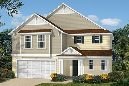 New Homes in Clayton, NC - Elevation D