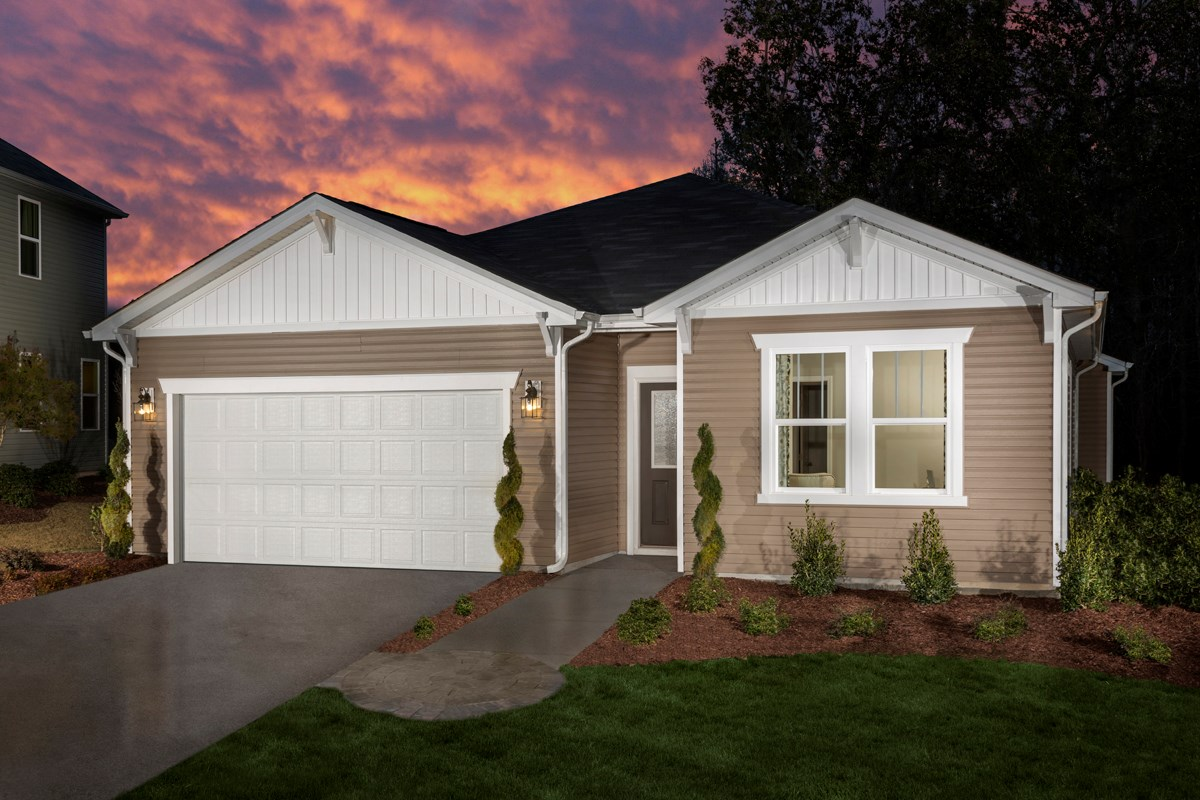 New Homes in Clayton, NC - Creekside Commons The Robinson Model