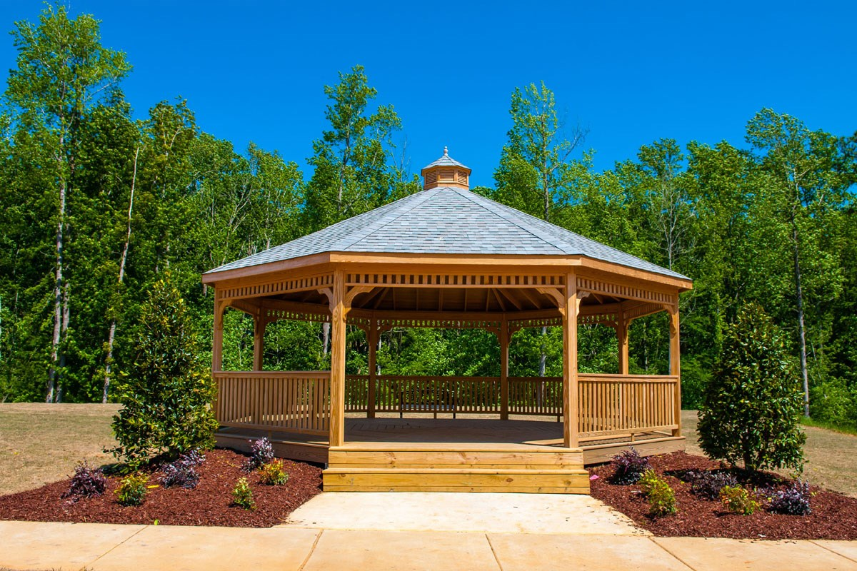 New Homes in Clayton, NC - Creekside Commons Creekside Gazebo