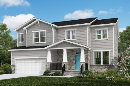 New Homes in Cary, NC - The Pembroke Elevation Y