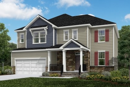 New Homes in Cary, NC - The Pembroke Elevation Z