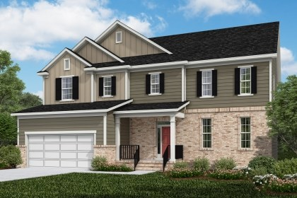 New Homes in Cary, NC - The Plymouth Elevation X