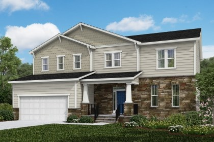 New Homes in Cary, NC - The Plymouth Elevation Y