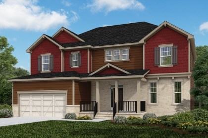 New Homes in Cary, NC - The Plymouth Elevation Z